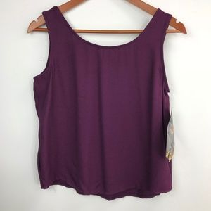 Rampage junior's purple tank small, Dry clean only